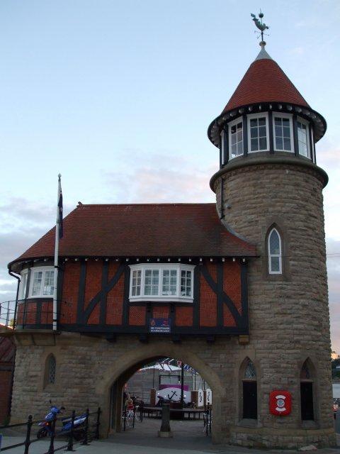 Здание управления порта