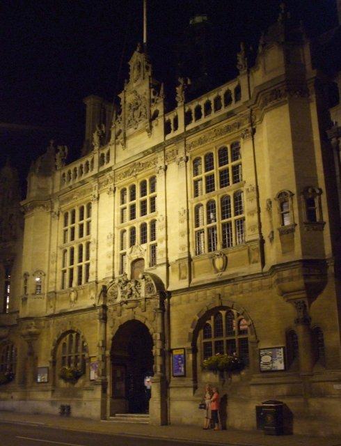 Оксфорд поздно вечером