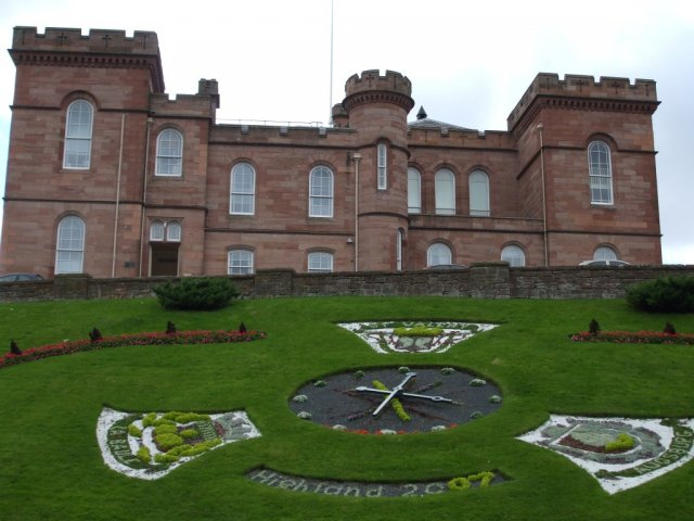 Замок Гаррисон (Garrison) в Инвернессе