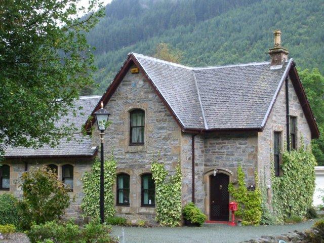 Инвермористен – шотландская деревня