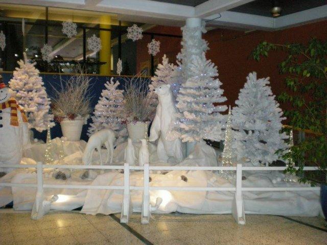 Холл Нясиннеулы в Рождество