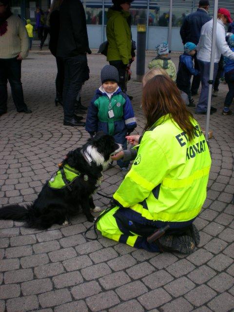 Добровольные помощники спасательных служб. День города, полицейский участок