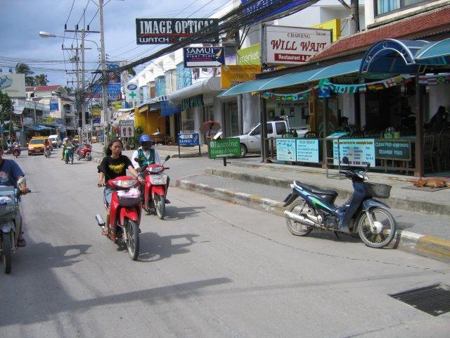 На улицах Чавенга, Самуи