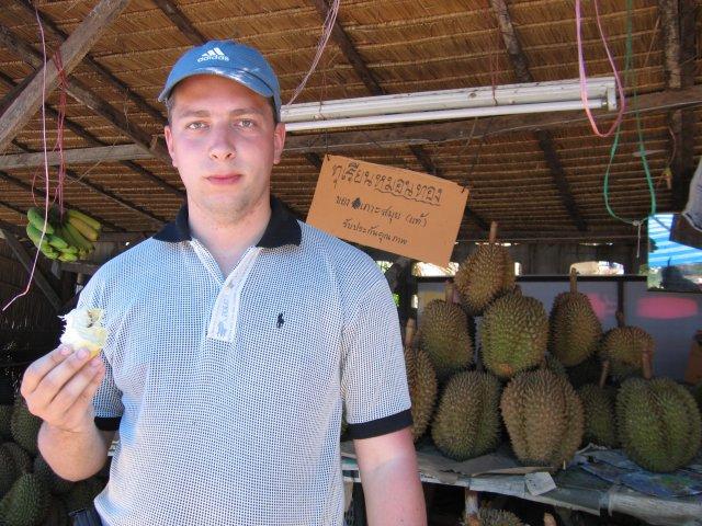 Дуриан - фрукт с экзотическим запахом, Самуи