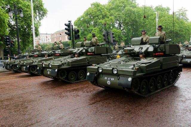 Демонстрация военной мощи Великобритании