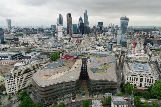 Вид с Собора св. Павла, Лондон