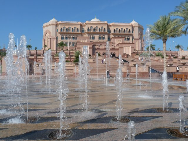 Палас-отель Emirates Palace 5* в Абу-Даби, ОАЭ