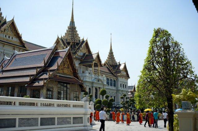 Королевский Дворец в Бангкоке, Таиланд