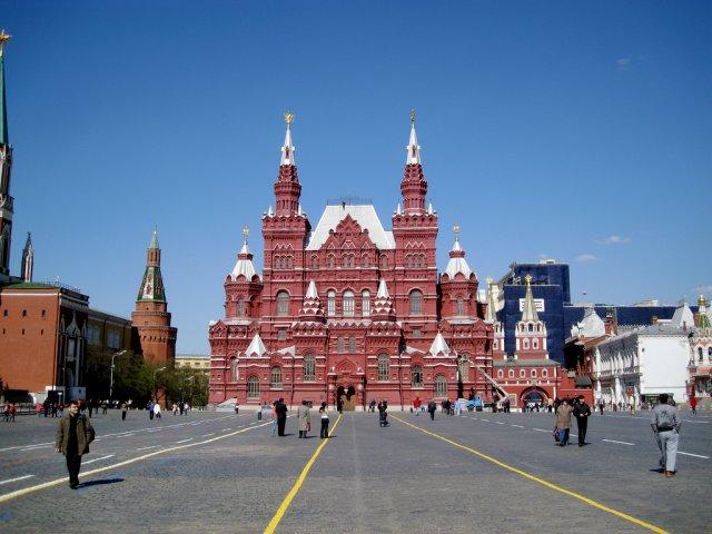 Красная Площадь в Москве, Россия