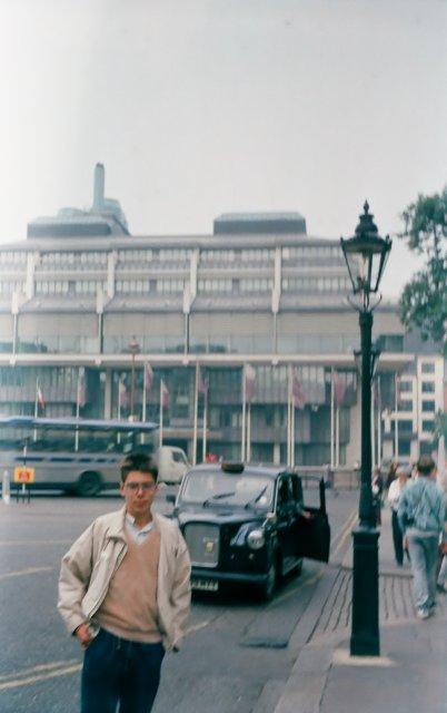 Сын Тима в Лондоне
